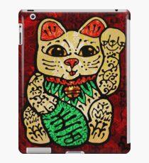 'Shiny Lucky Cat' iPad Case/Skin