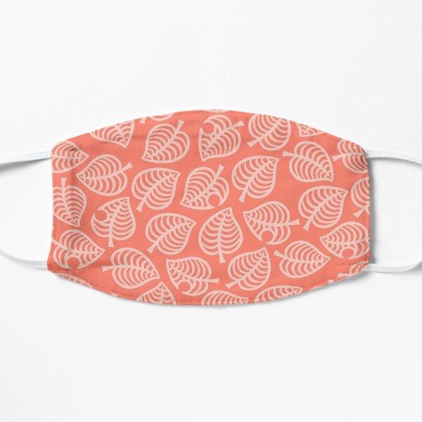 Isabelle Leaf Pink Flat Mask
