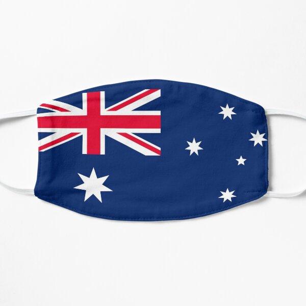 Australian Flag Australia Patriotic Flat Mask