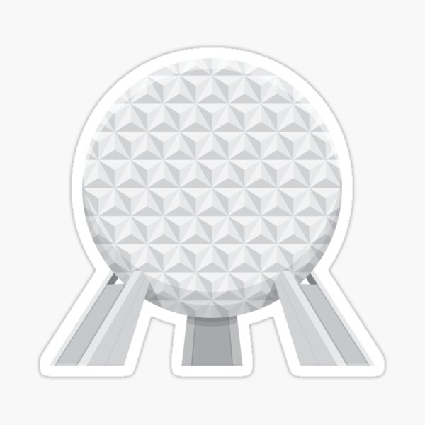 Spaceship Earth Sticker