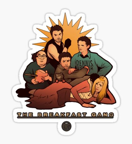 The Breakfast Gang Sticker