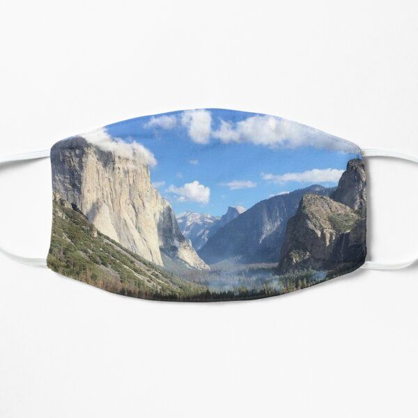 Yosemite Valley Flat Mask