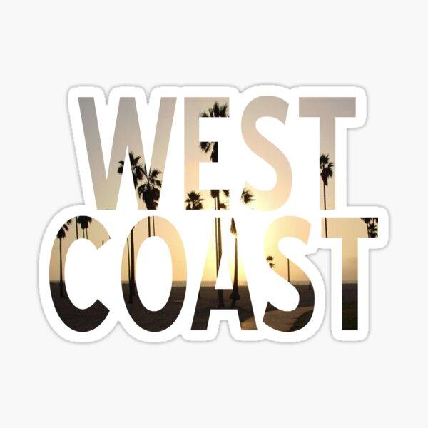 West coast 1 Sticker