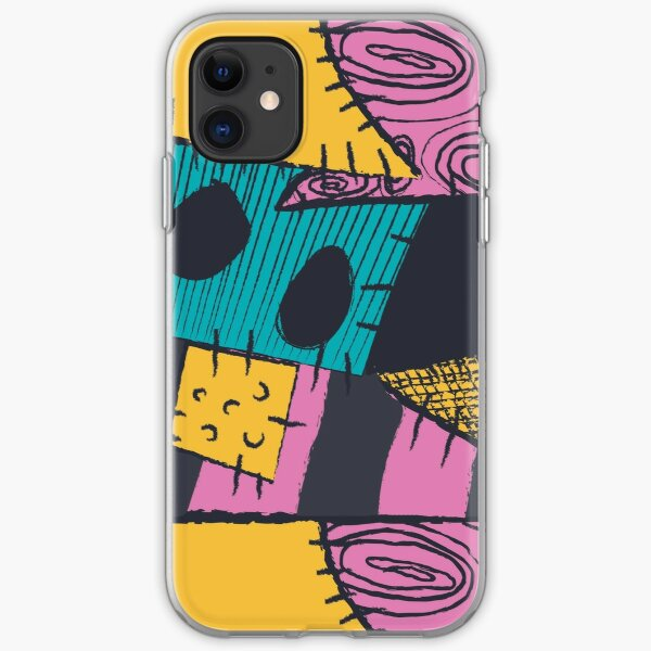 Nightmare Sewn Pattern iPhone Soft Case