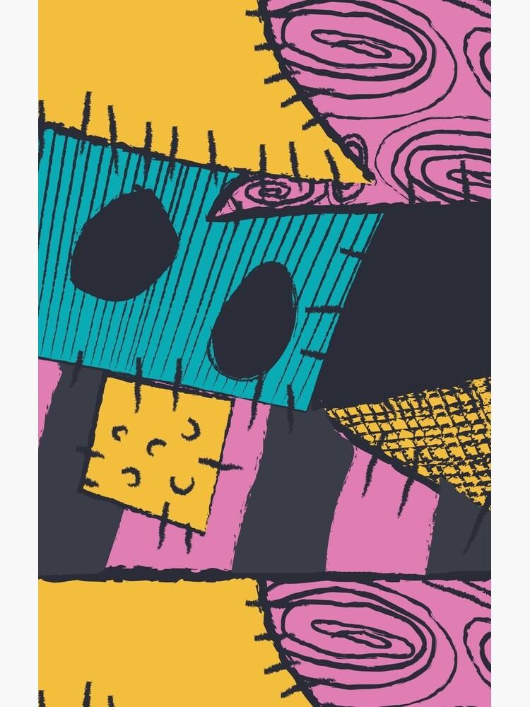 Nightmare Sewn Pattern by jinigo1