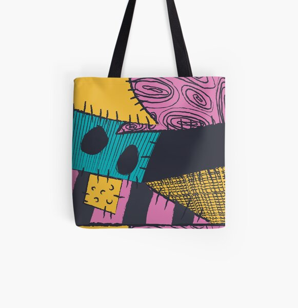 Nightmare Sewn Pattern All Over Print Tote Bag