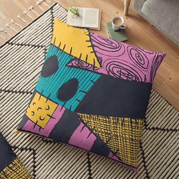 Nightmare Sewn Pattern Floor Pillow
