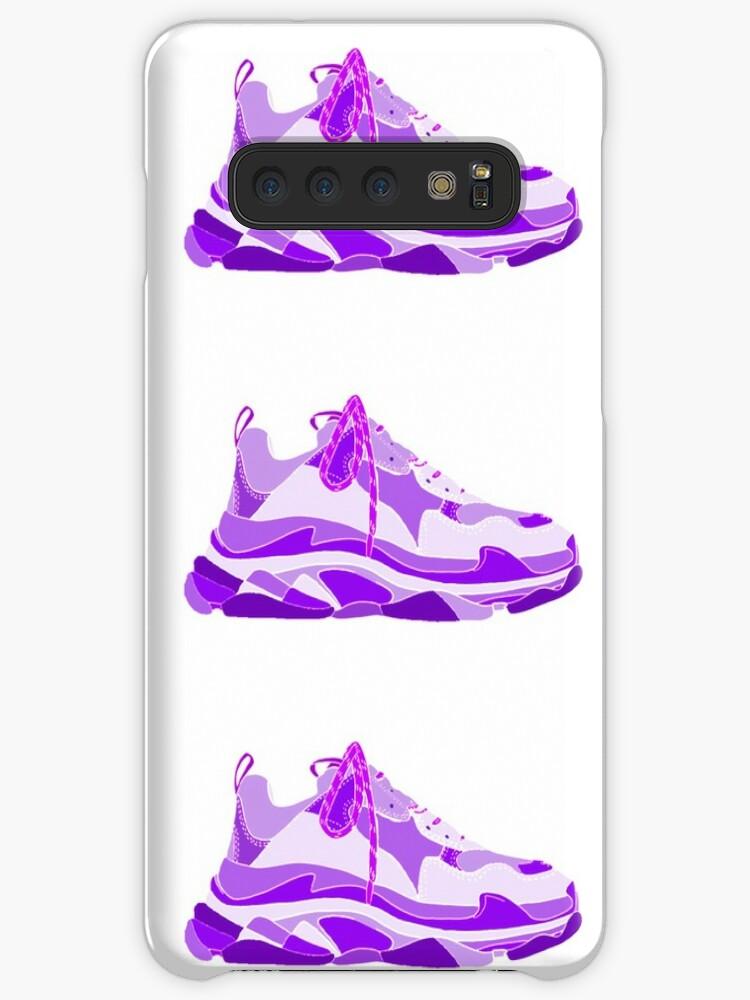 Purple Designer Sneaker\