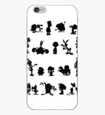 Cartoon Characters iPhone Case