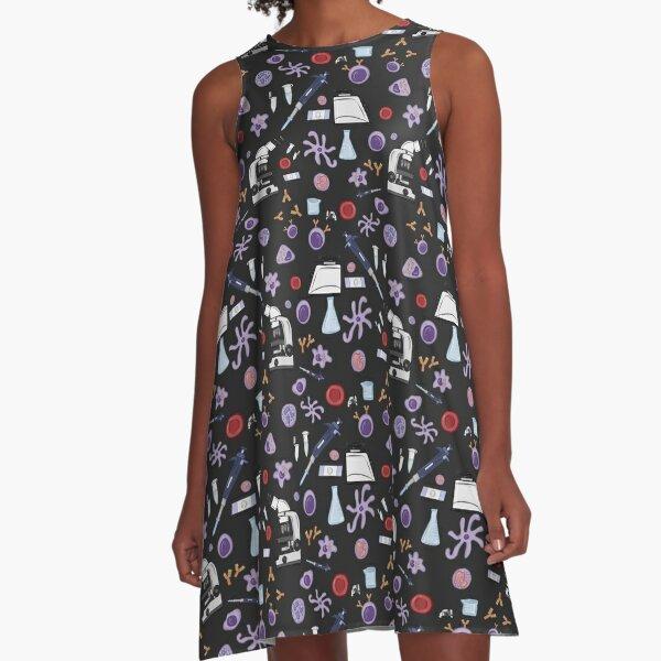 Science ! (Dark) A-Line Dress