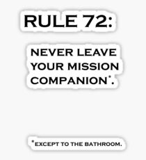 Rule 72 Sticker