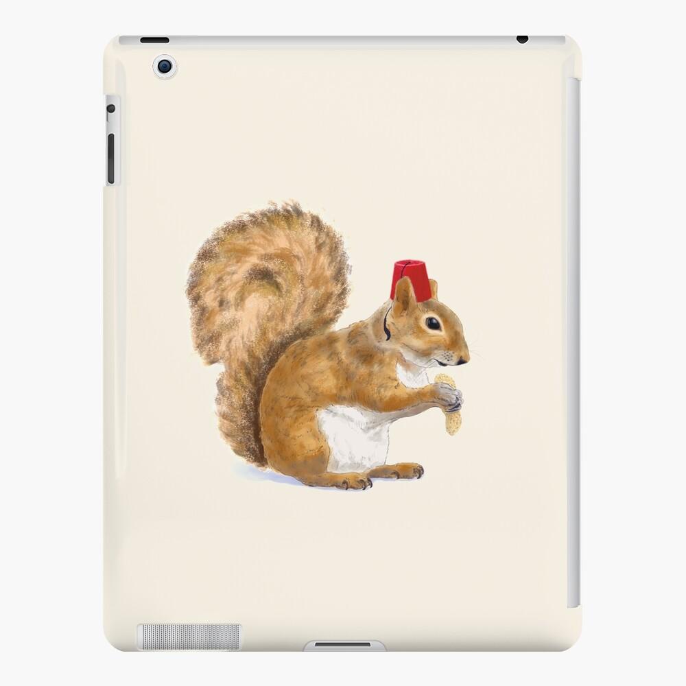 Fez Hat Squirrel iPad Case & Skin