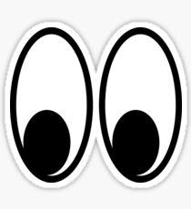 Scooter Eyes Die Cut Sticker Sticker