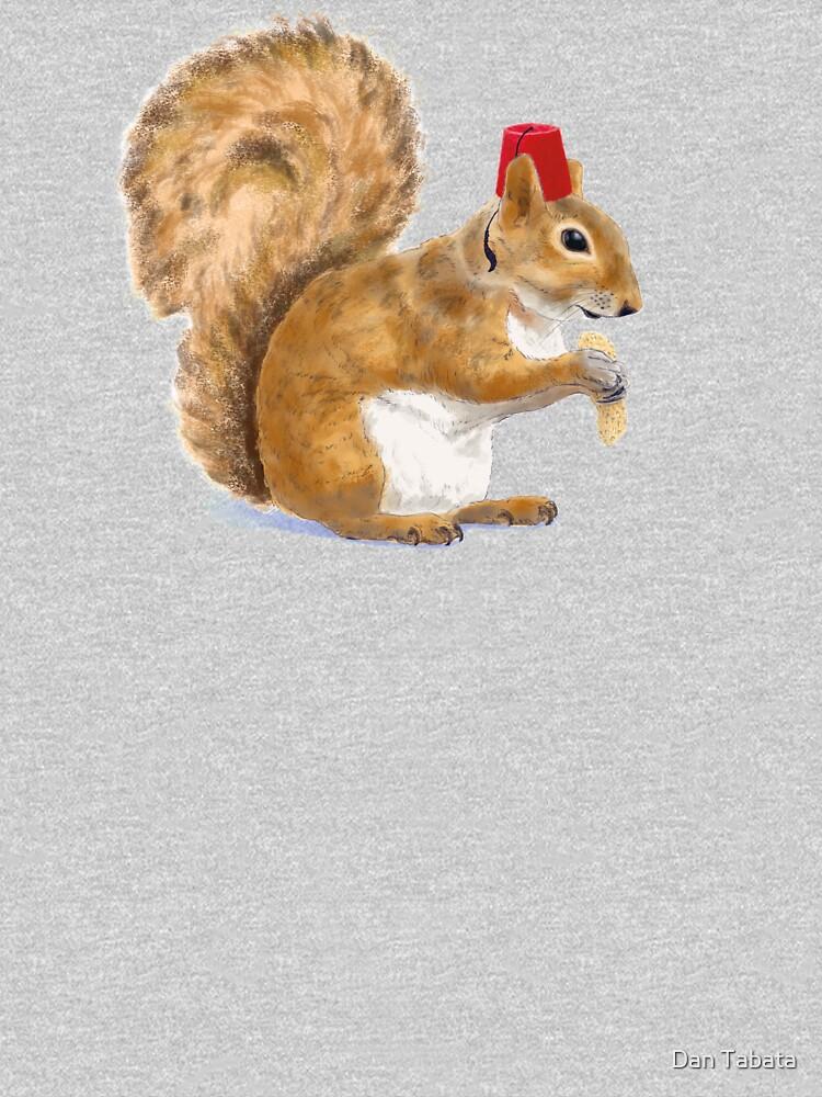 Fez Hat Squirrel by dmtab