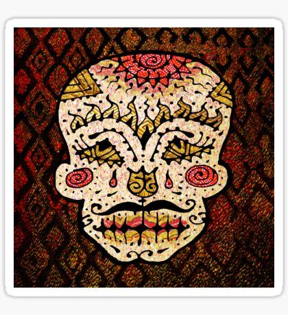 'Sweet Sugar Skull #2' Sticker