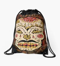 'Sweet Sugar Skull #2' Drawstring Bag