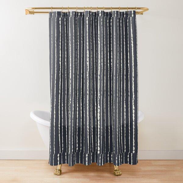 Nightmare Stripe Pattern Shower Curtain