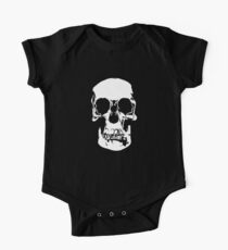 221b Baker Street Skull One Piece - Short Sleeve