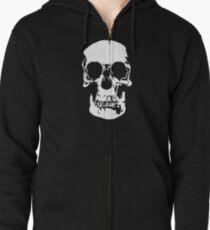 221b Baker Street Skull Zipped Hoodie