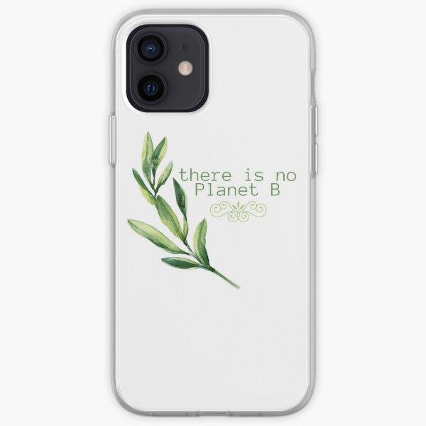 There is no planet B - Eco-friendly digital design Funda blanda para iPhone