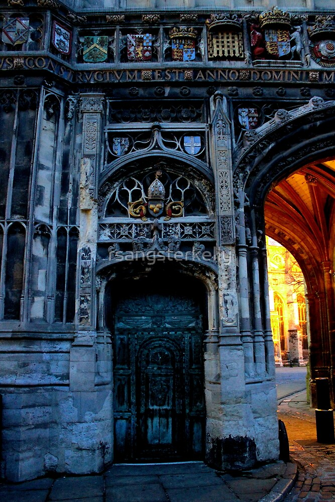 Canterbury Cathedral - Outside the Gate by rsangsterkelly