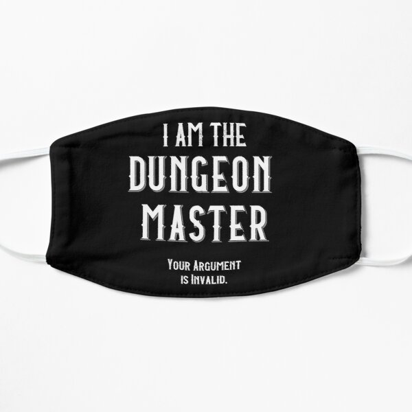 I am the Dungeon Master Mask