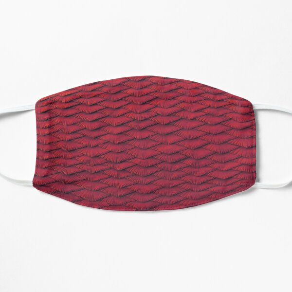 Red scales Mask