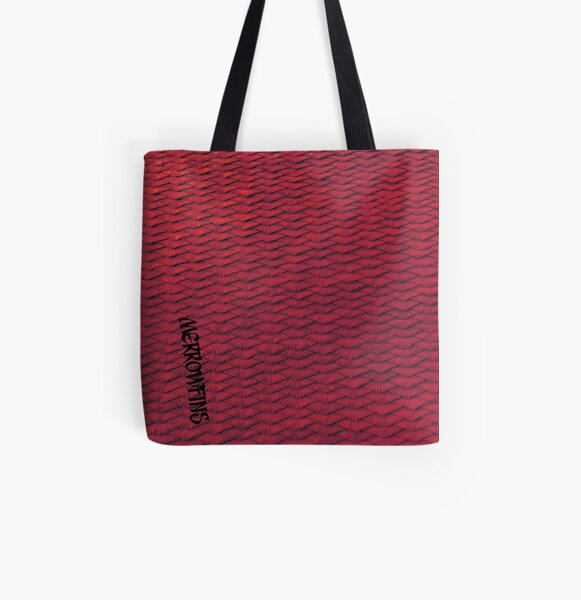 Red scales All Over Print Tote Bag