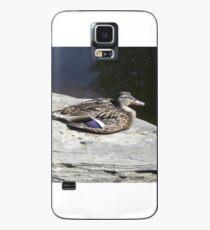 Sunbathing Duck Case/Skin for Samsung Galaxy