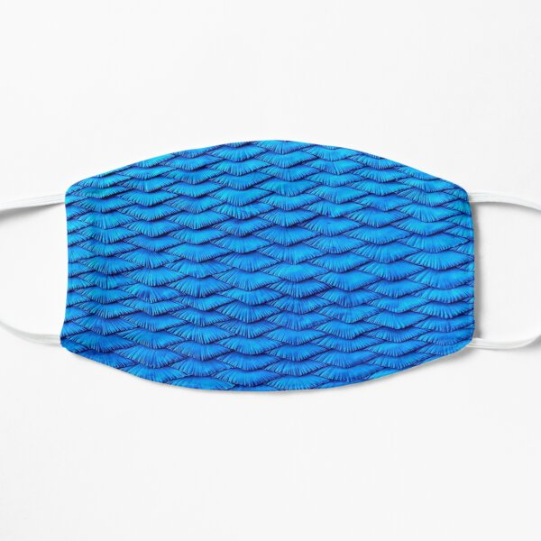 Blue Scales Mask