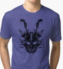Imaginary Inkblot- Donnie Darko Shirt Tri-blend T-Shirt
