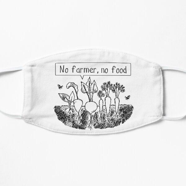 No farmer no food Mask