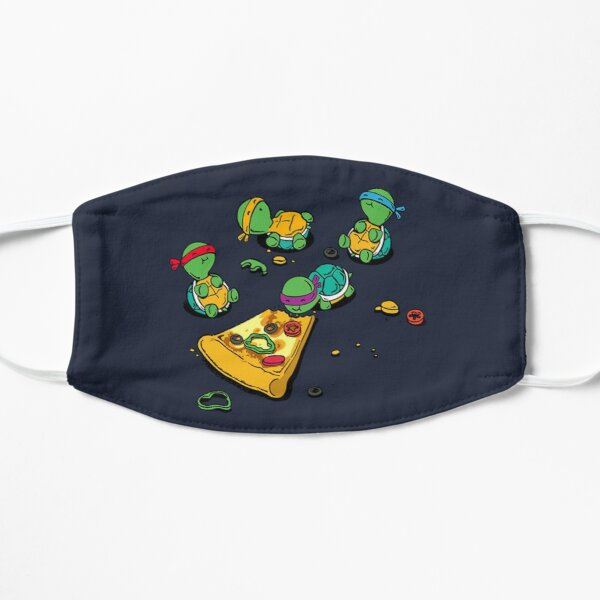 TURTLES LOVE PIZZA Mask