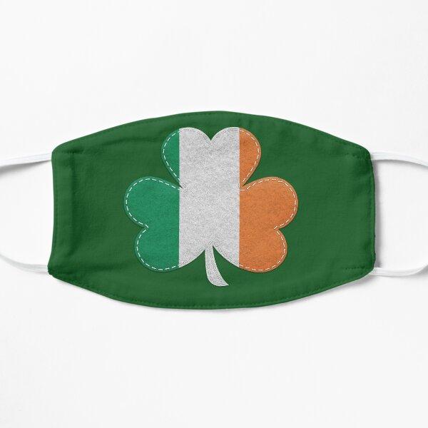 Irish Flag Irish Shamrock Flat Mask