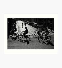 Cyclist Art Print