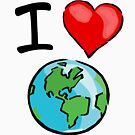 I heart earth by digerati