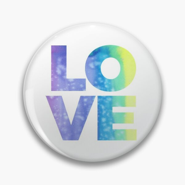 LOVE (Jewel Color Palette) Pin