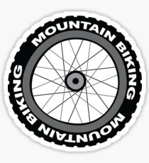 Mountain Bike Wheel Sticker