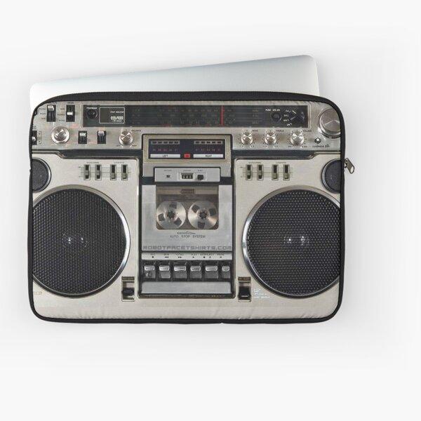 Vintage 80s Boombox Ghettoblaster Laptop Sleeve