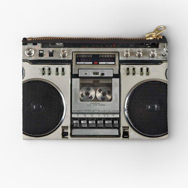 Vintage 80s Boombox Ghettoblaster Zipper Pouch