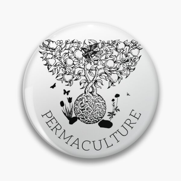 Permaculture Food Forest Pin