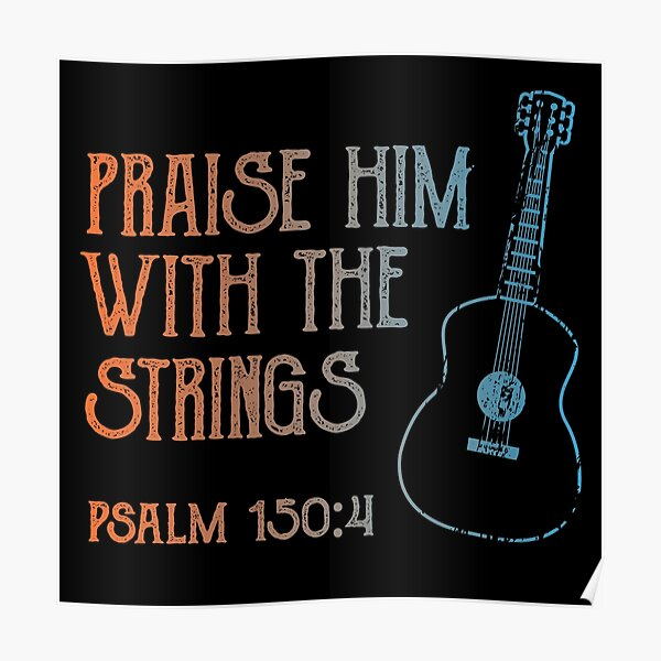 Bible Verse Music Posters Redbubble