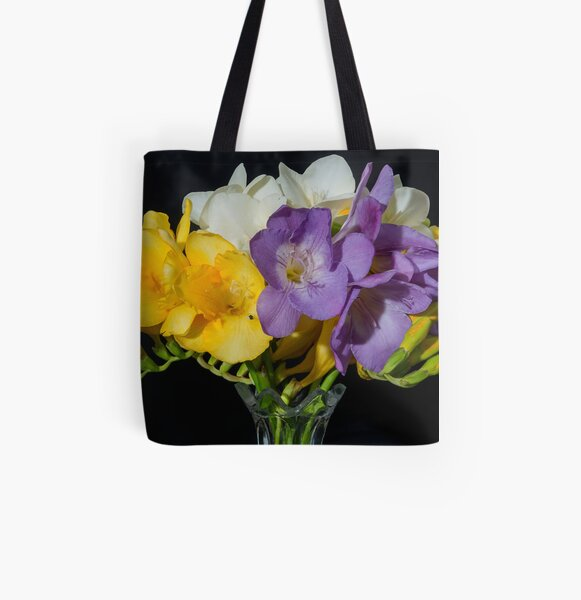 Freesia Bouquet All Over Print Tote Bag