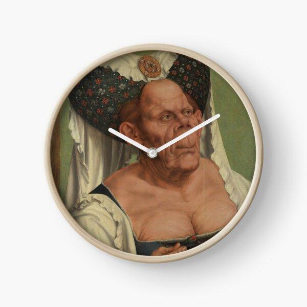 The Ugly Duchess (Matsys) Clock