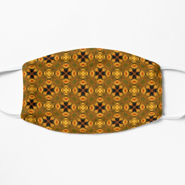 Pattern In Yellow Mask