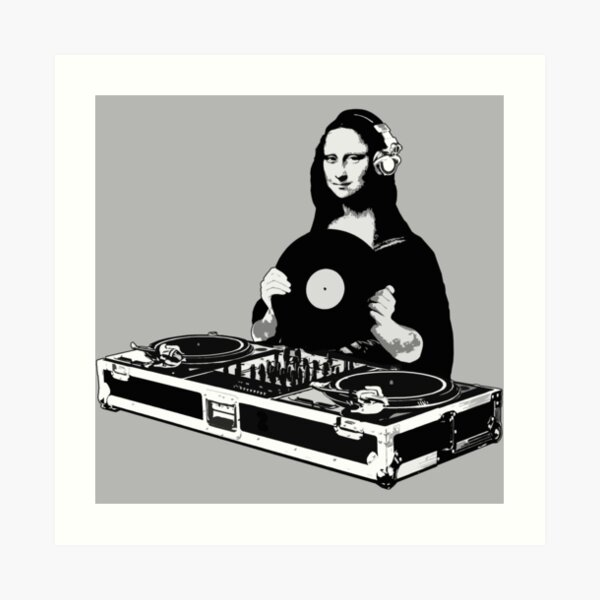 DJ Mona Lisa Impression artistique