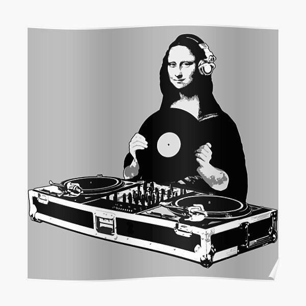 DJ Mona Lisa Poster