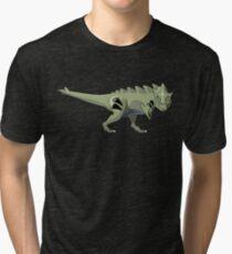 Pokesaurs - Tyranitaurus Tri-blend T-Shirt