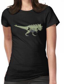 Pokesaurs - Tyranitaurus Womens Fitted T-Shirt