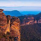 Boars Head  Katoomba Blue Mountains NSW by JennyMac